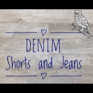 👖 jeans and jean shorts